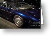 British Cars Greeting Cards - 1992 Jaguar XJ220 - 7D17250 Greeting Card by Wingsdomain Art and Photography