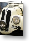 Bmw Emblem Greeting Cards - 1937 Frazer Nash BMW 328 Greeting Card by Jill Reger