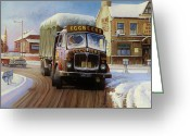 Commission Greeting Cards - AEC Tinfront Greeting Card by Mike  Jeffries