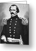 Johnston Greeting Cards - Albert Sidney Johnston Greeting Card by Granger