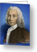 Featured Greeting Cards - Anders Celsius, Swedish Astronomer Greeting Card by Science Source