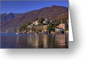 Mountain View Greeting Cards - Ascona Greeting Card by Joana Kruse