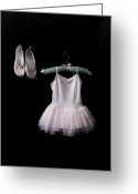 Dance Shoes Greeting Cards - Ballet Dress Greeting Card by Joana Kruse