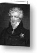 1833 Greeting Cards - Baron Georges Cuvier Greeting Card by Granger