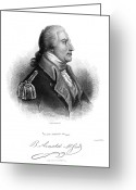 Autograph Greeting Cards - Benedict Arnold (1741-1801) Greeting Card by Granger