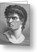 Marcus Greeting Cards - Brutus, Roman Politician Greeting Card by Photo Researchers