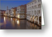 Venice Waterway Greeting Cards - Canal Grande Greeting Card by Joana Kruse