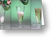 Co2 Greeting Cards - Carbonated Drink Greeting Card by Photo Researchers, Inc.