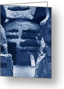 Clandestine Greeting Cards - Catacombs Greeting Card by Science Source