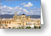 Historical Site Greeting Cards - Cathedral Mosque of Cordoba Greeting Card by Artur Bogacki