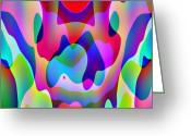 Chaos Theory Greeting Cards - Chaos Theory II Greeting Card by Charles Ragsdale