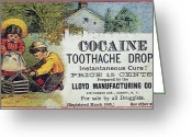 Cocaine Greeting Cards - Cocaine Medicine Ad, 1885 Greeting Card by Granger