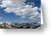 Colorado Mountains Greeting Cards - Colorado Greeting Card by Amanda Barcon