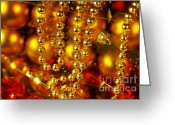 Starry Greeting Cards - Crhistmas Decorations Greeting Card by Carlos Caetano