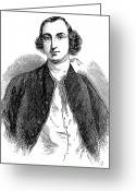 Custis Greeting Cards - Daniel Parke Custis Greeting Card by Granger