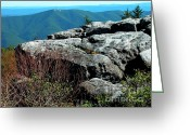 Appalachian Mountains Greeting Cards - Dolly Sods Wilderness Greeting Card by Thomas R Fletcher