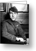 Us Air Force Greeting Cards - Eddie Rickenbacker Greeting Card by War Is Hell Store