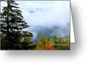 Winding Road Greeting Cards - First Day of Fall Greeting Card by Thomas R Fletcher