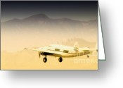 Lockheed Hudson Greeting Cards - Flight to Macao Greeting Card by Gus McCrea