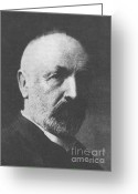 Georg Greeting Cards - Georg Cantor, German Mathematician Greeting Card by Science Source