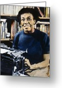 Typewriter Greeting Cards - Gwendolyn Brooks Greeting Card by Granger