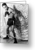 Glove Greeting Cards - Henry Armstrong (1912-1988) Greeting Card by Granger
