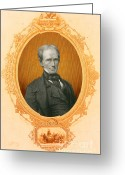 The Orator Greeting Cards - Henry Clay Sr., American Politician Greeting Card by Photo Researchers