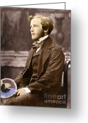 Maxwell Greeting Cards - James Clerk Maxwell, Scottish Physicist Greeting Card by Science Source
