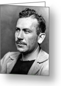 Prize Greeting Cards - John Steinbeck (1902-1968) Greeting Card by Granger