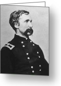 Products Greeting Cards - Joshua Lawrence Chamberlain  Greeting Card by War Is Hell Store