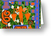 Irish Mixed Media Greeting Cards - Juice Greeting Card by Patrick J Murphy