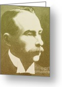 Jules Photo Greeting Cards - Jules Bordet, Belgian Immunologist Greeting Card by Science Source