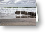 Flood Greeting Cards - Kampen - Sylt Greeting Card by Joana Kruse