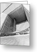 Benjamin Matthijs Greeting Cards - La Grande Arche Greeting Card by Benjamin Matthijs