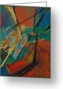Migration Greeting Cards - Landing Sight Greeting Card by Ethel Vrana