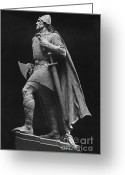 Norse Greeting Cards - Leif Ericson, Norse Explorer Greeting Card by Photo Researchers