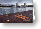 Stripes Greeting Cards - Lisbon Expo Greeting Card by Carlos Caetano