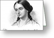 Autograph Greeting Cards - Margaret Fuller (1810-1850) Greeting Card by Granger