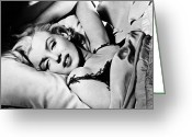 Film Still Greeting Cards - Marilyn Monroe (1926-1962) Greeting Card by Granger