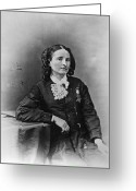 Cravat Greeting Cards - Mary Edwards Walker Greeting Card by Granger