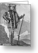 Balthasar Greeting Cards - Meriwether Lewis Greeting Card by Granger