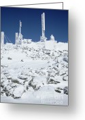 Mt. Washington Greeting Cards - Mount Washington State Park - White Mountains New Hampshire USA Greeting Card by Erin Paul Donovan