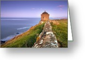 Klarecki Greeting Cards - Mussenden Temple Greeting Card by Pawel Klarecki