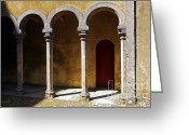 Royalty Greeting Cards - Palace arch Greeting Card by Carlos Caetano