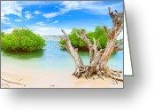 Tropical Island Greeting Cards - Panorama island Greeting Card by MotHaiBaPhoto Prints