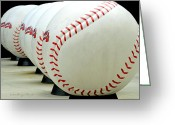 World Series Greeting Cards - Play Ball....... Greeting Card by Tanya Tanski