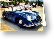 Picoftheday Greeting Cards - Porsche Greeting Card by Luisa Azzolini