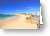 Beaches Greeting Cards - Praia do Vau Greeting Card by Carl Whitfield