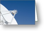 Communicating Greeting Cards - Radio Telescope Greeting Card by Dave & Les Jacobs