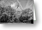 Benjamin Matthijs Greeting Cards - Riddagshausen abbey Greeting Card by Benjamin Matthijs